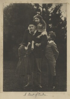 Harold Hawthorn Myers; Frederic William Henry Myers; Silvia Constance Myers; Leopold Hamilton Myers, by Eveleen Myers (née Tennant) - NPG Ax68411
