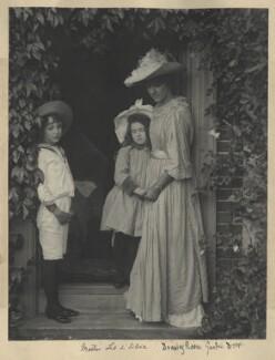 Leopold Hamilton Myers; Silvia Constance Myers; Eveleen Myers (née Tennant), by Eveleen Myers (née Tennant) - NPG Ax68395