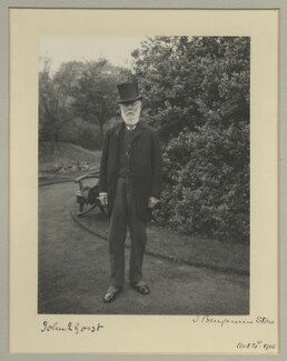 Sir John Eldon Gorst, by Benjamin Stone - NPG x16044