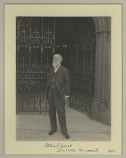 Sir John Eldon Gorst, by Benjamin Stone - NPG x16045