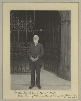 Sir John Eldon Gorst, by Benjamin Stone - NPG x16046