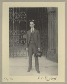Edward Alfred Goulding, 1st Baron Wargrave, by Benjamin Stone - NPG x16048