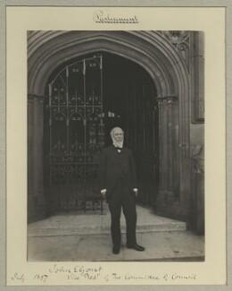 Sir John Eldon Gorst, by Benjamin Stone - NPG x128592