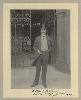 Sir Arthur Sackville Trevor Griffith-Boscawen, by Benjamin Stone - NPG x8826