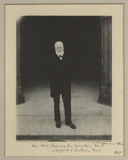 Sir William Brampton Gurdon, by Benjamin Stone - NPG x16066