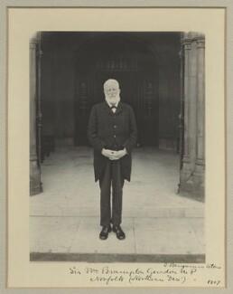 Sir William Brampton Gurdon, by Benjamin Stone - NPG x16067