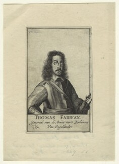 Thomas Fairfax, 3rd Lord Fairfax of Cameron, after Unknown artist - NPG D23432