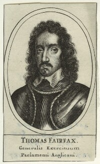 Thomas Fairfax, 3rd Lord Fairfax of Cameron, after Robert Walker - NPG D23420