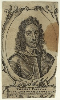Thomas Fairfax, 3rd Lord Fairfax of Cameron, after Robert Walker - NPG D23415