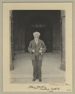 Keir Hardie, by Sir (John) Benjamin Stone, 1908 - NPG x20359 - © National Portrait Gallery, London