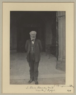 Keir Hardie, by Benjamin Stone, 1911 - NPG x20361 - © National Portrait Gallery, London