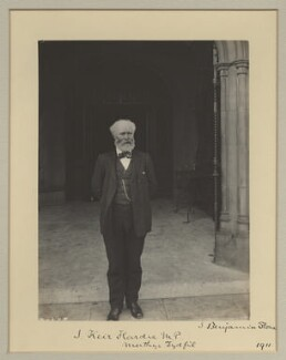 Keir Hardie, by Sir (John) Benjamin Stone, 1911 - NPG x1097 - © National Portrait Gallery, London