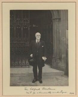 Sir Alfred Seale Haslam, by Benjamin Stone - NPG x20365