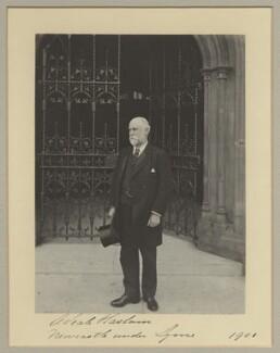 Sir Alfred Seale Haslam, by Benjamin Stone - NPG x20368