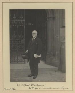 Sir Alfred Seale Haslam, by Benjamin Stone - NPG x20366