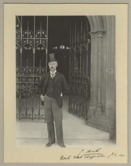 Sir James Heath, 1st Bt, by Benjamin Stone - NPG x20378