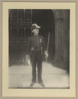 Lord Arthur William Hill, by Benjamin Stone - NPG x20389