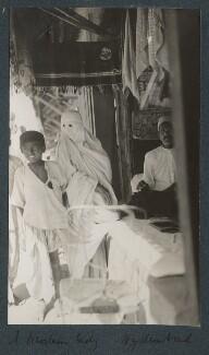 'A muslim lady, Hyderadad', by Lady Ottoline Morrell - NPG Ax143748