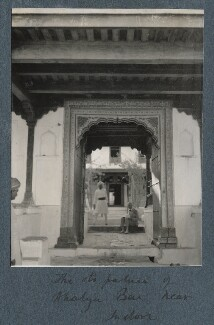 'Palace of Ahalya Bai near Indore' (Philip Edward Morrell), by Lady Ottoline Morrell - NPG Ax143816