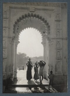 'Scenes at Udaipur', possibly by Lady Ottoline Morrell - NPG Ax143825