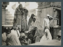 'Scenes at Udaipur', possibly by Lady Ottoline Morrell - NPG Ax143826