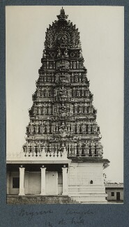 Chamundi Hill temple, possibly by Lady Ottoline Morrell - NPG Ax143834