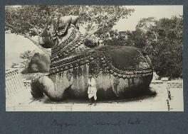 Nandi Bull, Mysore, possibly by Lady Ottoline Morrell - NPG Ax143835