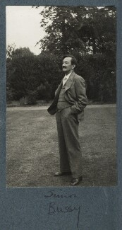 Simon Bussy, by Lady Ottoline Morrell - NPG Ax143850