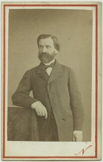 Giuseppe Verdi, by Nadar (Gaspard Félix Tournachon), 1860s - NPG x4050 - © National Portrait Gallery, London