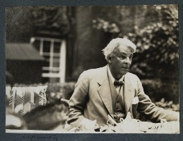 W.B. Yeats, by Lady Ottoline Morrell - NPG Ax143874