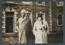 W.B. Yeats; Dorothy Violet Wellesley (née Ashton), Duchess of Wellington, by Lady Ottoline Morrell - NPG Ax143876