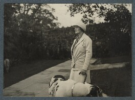 Dorothy Violet Wellesley (née Ashton), Duchess of Wellington, by Lady Ottoline Morrell - NPG Ax143879