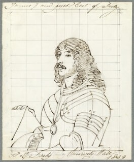 James Stanley, 7th Earl of Derby, by Alfred Thomas Derby, after  Sir Anthony van Dyck - NPG D23095