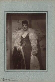 Jeanette ('Jennie') Churchill (née Jerome), Lady Randolph Churchill, by Herbert Rose Barraud, published 1888 - NPG x12763 - © National Portrait Gallery, London