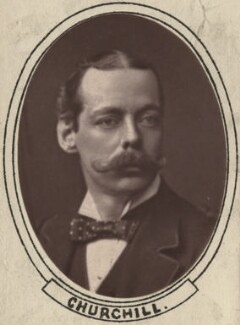 Lord Randolph Churchill, by Unknown photographer - NPG x6116