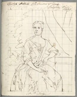 Elizabeth Stanley (née Hesketh), Countess of Derby, by Alfred Thomas Derby, after  Hamlet Winstanley - NPG D23115