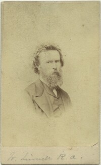 William Linnell, by London Stereoscopic & Photographic Company - NPG x128683