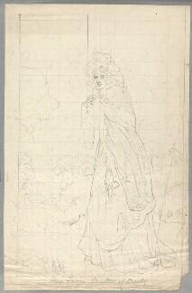 Elizabeth (née Farren), Countess of Derby, probably by William Derby, after  Stevenson, after  Sir Thomas Lawrence - NPG D23125