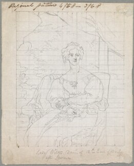 Mary Margaret Egerton (née Stanley), Countess of Wilton, probably by William Derby, after  Sir Thomas Lawrence - NPG D23126
