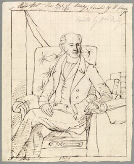 Edward Smith Stanley, 13th Earl of Derby, by Alfred Thomas Derby, after  William Derby - NPG D23127