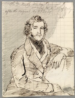 Hon. Henry Thomas Stanley, probably by Alfred Thomas Derby, possibly after  Henry Perronet Briggs - NPG D23130