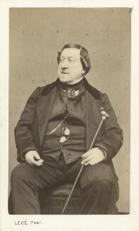 Gioacchino Rossini, by Georges Mathurin Legé (Legi) - NPG x12884
