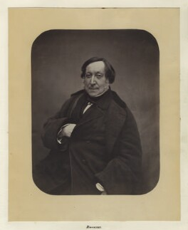 Gioacchino Rossini, by Nadar - NPG Ax7286