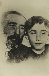 Joseph Conrad; John Conrad, by Unknown photographer - NPG x3714