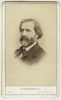 Giuseppe Verdi, by Charles Reutlinger, late 1860s - NPG x13262 - © National Portrait Gallery, London