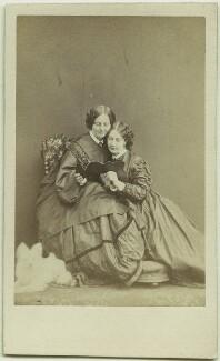 Georgina Hogarth; Mamie Dickens, by Herbert Watkins - NPG x128688