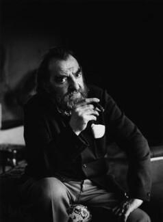 Hugh Emrys Griffith, by Godfrey Argent - NPG x16908