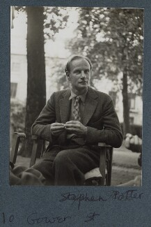 Stephen Potter, by Lady Ottoline Morrell - NPG Ax143885