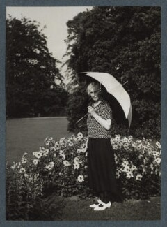 Olivia (née Taylour), Lady Cavendish-Bentinck, by Lady Ottoline Morrell - NPG Ax143900