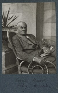 Sir Edward Howard Marsh, by Lady Ottoline Morrell - NPG Ax143902